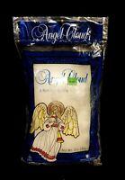 Vintage Union Wadding Angel Cloud 2 Oz. Bag Of Spun Glass Angel Hair - NIP