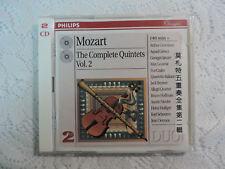 Mozart: The Complete Quintets, Vol. 2 (Apr-1997, 2 CDs, Philips) Import OBI