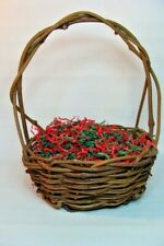 Gift Basket Supplies Country Rustic Grapevine Basket 10x11x15 Ready To Fill !
