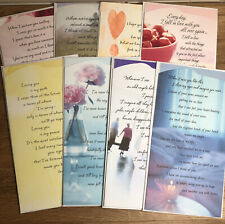 "Hallmark ""Between You and Me"" Love/Romance Cards w/ Envelopes Lot of 8"