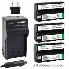 NP-FS11 Battery & Charger for Sony CCD-CR1 CR5 PC1 PC2 PC3 PC4 PC5 TRV1VE