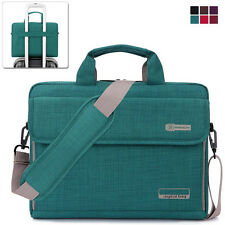 "13.6"" Laptop Notebook Sleeve Case Shoulder Bag Handbag for Lenovo Dell HP Green"