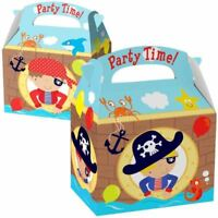 Pirate Favour Loot Party Box Childrens Birthday Party Decorations