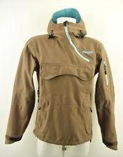 BERGANS OF NORWAY Dermizax Mens 5900 Gjende Anorak Jacket Brown Hooded Size XS