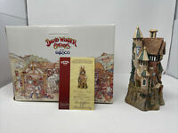 Merlin's Castle ~ David Winter Cottages ~ 1998 ~ Box & COA ~ 1212 Of 4250 *MINT*