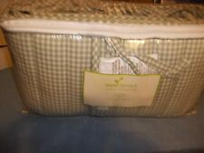 *New*Seed Sprout Porta-Crib Baby Bedding Bumper Pad Set