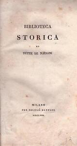 LA STORIA ROMANA E LE GUERRE CATILINARIA E GIUGURTINA - Floro / Sallustio - 1823