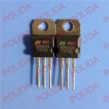 5PAIRS OR 10PCS TRANSISTOR ST TO-220 TIP31C/TIP32C