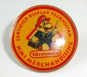 1992 Pin Nintendo Pinback RARE Vintage Employee Promo RARE!!!