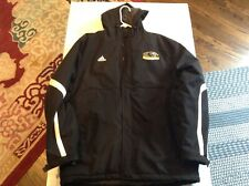 UW Milwaukee Panthers Adidas Clima Proof Black Winter Parka Jacket SZ L - Cool