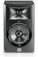 JBL LSR305 5 Inch Two Way Active Studio Monitor Speaker, Black