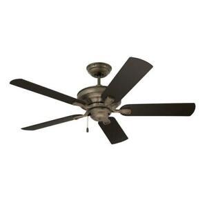 Emerson Veranda 52 in. Indoor / Outdoor Vintage Steel Ceiling Fan