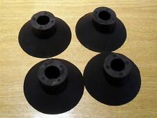 Pie De Goma Set Para Clásico Techo portaequipajes, 4 X Pies 70 Mm De Diámetro, 15mm agujero