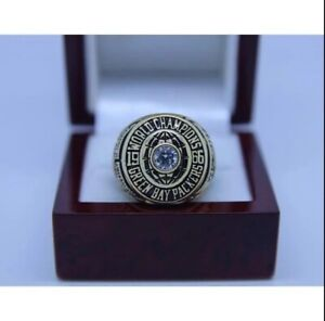 SPECIAL EDITION Green Bay Packers Super Bowl Ring (1966) In 925 Sterling Silver