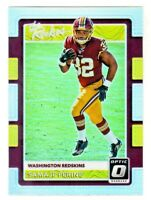 2017 Donruss Optic THE ROOKIES REFRACTOR PRIZM SAMAJE PERINE RC Rookie Redskins