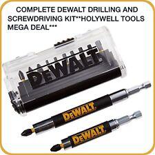 DEWALT DRILL AND SCREWDRIVER TORSION BIT SET 14 PIECE  DT70564T-GB