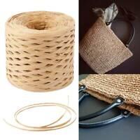 200m rouleau de papier cordon en raphia Craft Ficelle Corde Artisanat DIY L7