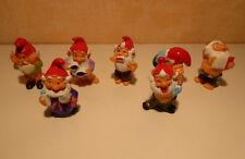 serie kinder (pas complète) Salle de bains nains 1991