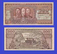 Romania 500 lei 1949 UNC - Reproduction