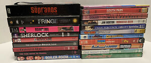 Lot Of 20 DVD Movies And TV Show Sets Mixed Lot Comedy Crime And Miscellaneous