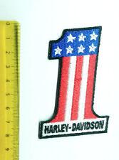 Aufnäher Aufbügler Patch Harley Davidson 1 nummer eins
