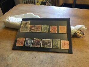 World Perfins Stamps Lot