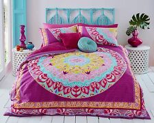 Paisley Mandala Duvet Cover with Pillow Case Quilt Cover Bedding Set All Sizes