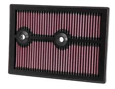 K&n Filtro de aire se ajusta Audi A3 y Q3 VW Golf MK7 Polo 1.2 1.4 2012-2016 33-3004