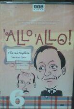Allo Allo Complete Series 6 BBC Official Boxset DVD Classic British Comedy 1989