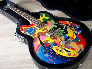 "TPP Beatles ""Apple Boutique"" Custom Epiphone Casino Tribute / The Fool 335 Semi"