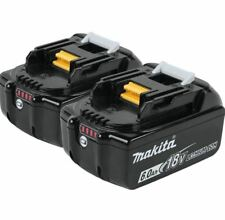 2xMakita 6.0A 18v Li-ion battery BL1860B for Genuine Makita Lxt drill saw driver