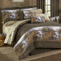 Flying Ducks Bedding Set Blue Ridge Trading Duck Approach Comforter Set & Add On