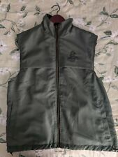 DUCKS UNLIMITED Mens Vest Size Medium Zip Up Soft reverseable Style Sleeveless
