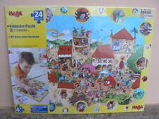 NUOVO Haba puzzle Ritterburg 3911 24 pezzi Puzzle degli esploratori