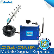 GSM 850 Mobile Cell Phone Amplifier CDMA 850 Signal Booster 17dB 850MHZ Repeater