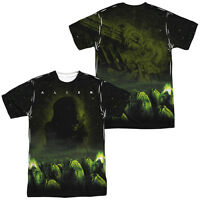 Alien Movie OMINOUS 2-Sided Sublimated All Over Print Poly T-Shirt