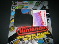 XEVIOUS BANDAI NES W/MANUAL GR8T LABELS CLEAN PINS TESTED WORKS VERY HQ