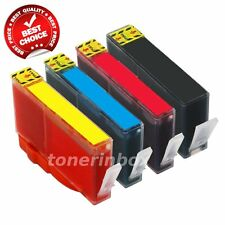 4pk Compatible Ink Set For HP 564XL Deskjet 3070a 3520 3521 3522 3526 INK LEVEL