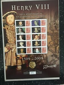 HENRY V111. 500TH ANNIVERSARY OF HIS ACCESSION TO THE THRONE. 1509-2009.