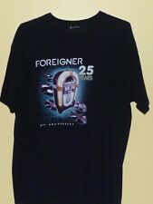 Foreigner 25th Anniversary T-Shirt Size XL (No Tag)