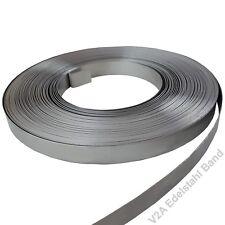 Bandstahl Umreifungsstahlband Stahlband Verpackungsstahlband 16x0,5mm 2 Rollen blank