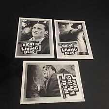 1993 IMAGINE  Night of the Living Dead 25th anniversary Set  3 Promo Cards mint