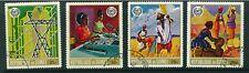 Guinea Republic 1969 Anniversary of ILO full set of stamps. Used. Sg 707-710.