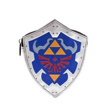 UFFICIALE The Legend of zelda scudo cerniera portamonete - Nintendo Merchandise