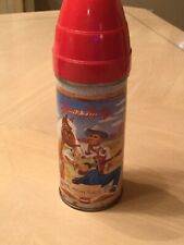 Gene Autry Thermos - Great Color!
