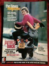 TIMES mag 11/03/2000 JAMIE OLIVER Denzel Washington Eddie Irvine Kate Ashfield