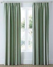 Rideaux et cantonnières vert à motif Rayé polyester pour la maison