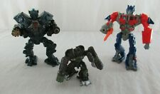 Transformers Optimus Prime & Ironhide McDonald's Happy Meal Toys + Robot Heroes