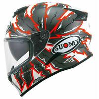 casco integrale moto suomy stellar apache