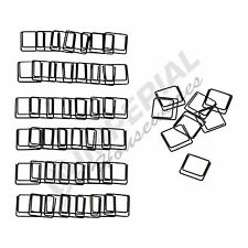 Ikea fullfolja Clip Negro Pack de 50